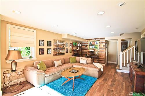Staging & Photography - Lower Living Room @ Magnolia (Owner/Agent Decor)