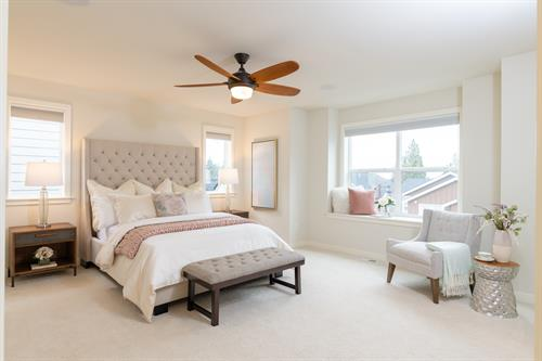 Staging & Photography - Master Bedroom