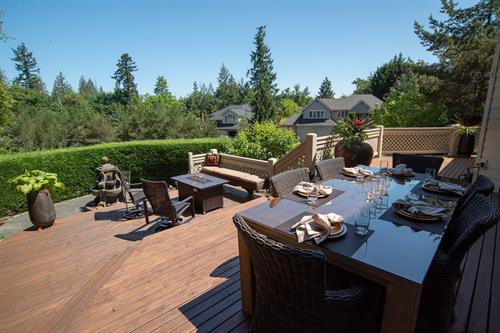 Staging & Photography - Back Patio @ Hidden Ridge (Owner's Decor)