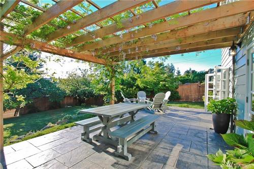 Staging & Photography - Back Patio @ Magnolia (Owner/Agent Decor)