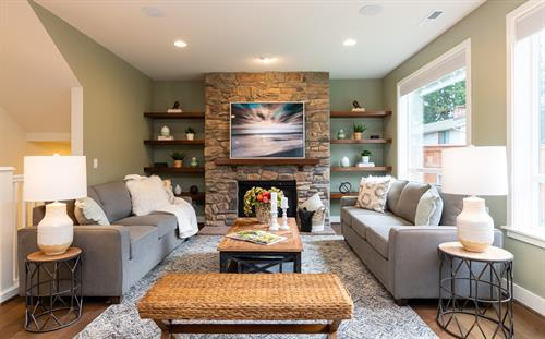 Staging & Photography - Great room