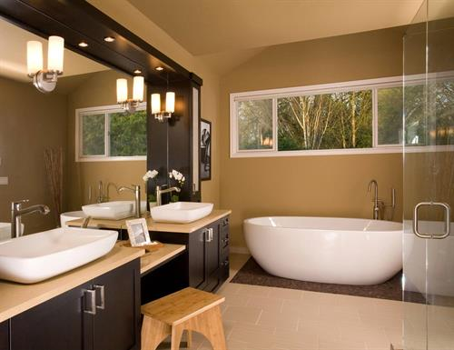 NW Contemporary Master Bath