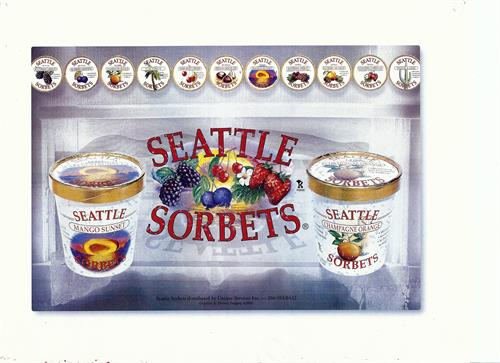 Seattle Sorbets Flavors