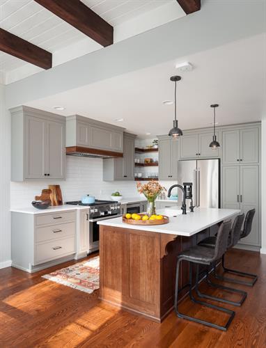 West Seattle Kitchen designed by Kirk Riley Design