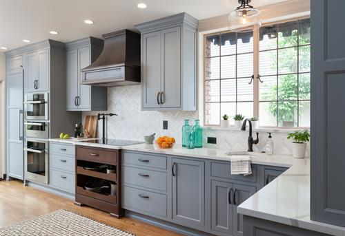 Queen Anne Tudor Kitchen Remodel by Kirk Riley Design