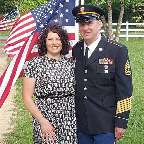 Furber Farm celebrating Army's Birthday