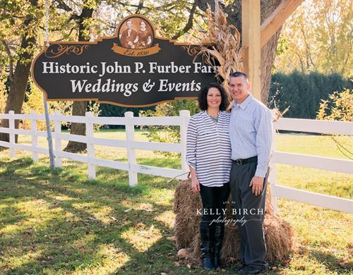 Furber Farm Owners Angi and Wayne Butt