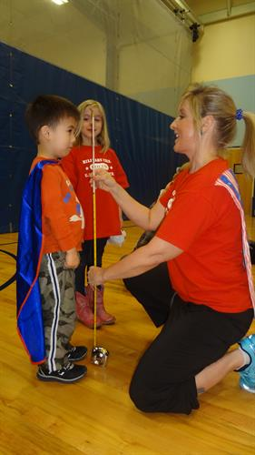 The Month of the Military Child Fitness Celebration