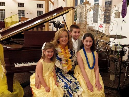 Hawaiian Piano Recital, Miss Laura's Piano Studio
