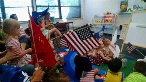 Library Story Time, US Navy Base, Great Lakes, IL