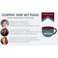 Cuppa Joe with Amherst Town Manager Paul Bockelman