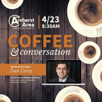 Coffee & Conversation with State Rep. Dan Carey