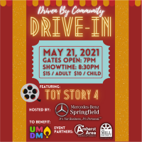 Driven By Community Movie Night Benefiting UMass For the Kids (FTK): Toy Story 4