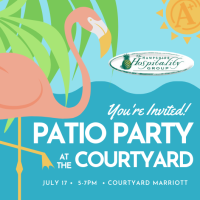 Patio Party at the Courtyard