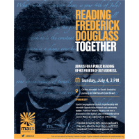 Reading Frederick Douglass Together on the South Amherst Common