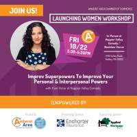 Launching Women Workshop: Improv Superpowers To Improve Your Personal & Interpersonal Powers