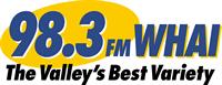 WHAI 98.3 FM / Bear Country 95.3