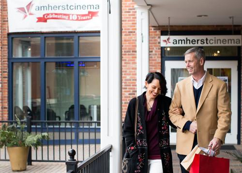 Amherst Cinema Walkway