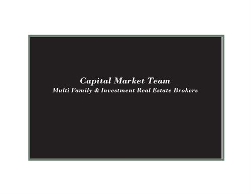 Capital Market Team