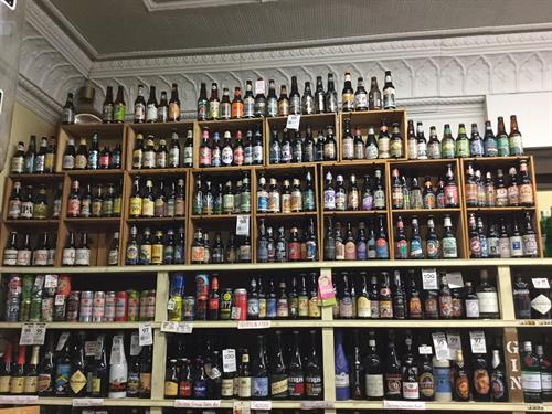 All different type of Beer.