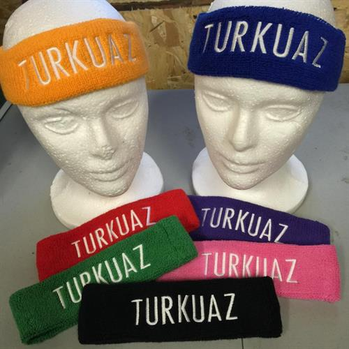 Embroidered headbands for Turkuaz in New York City