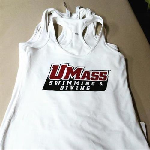 Tanks for UMass Swimming & Diving team