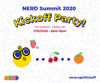 NERD Summit 2020 Kickoff