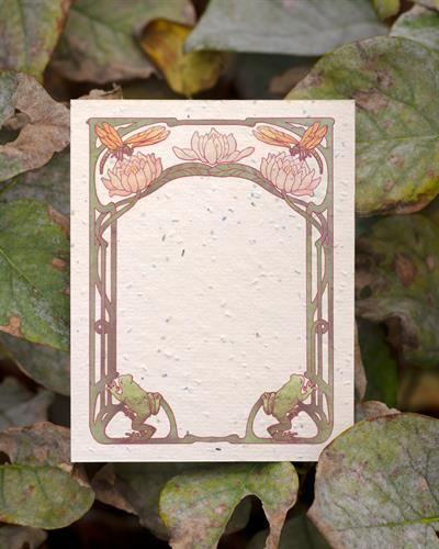 Pondside Flat Plantable Notecards