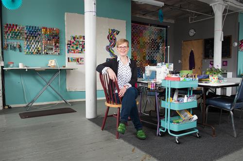 Timna Tarr Quilt Artist