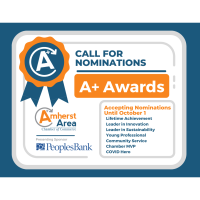 Amherst Area Chamber Seeks 2020 A+ Award Nominations