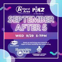 Amherst Area Chamber To Host After Five At PiNZ