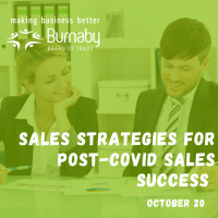 Sales Strategies for Post-COVID Sales Success