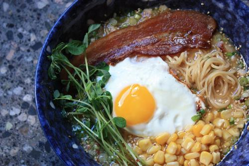 Gyoza Bar - Bacon 'n Eggs Ramen, Brunch