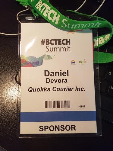 Proud sponsor of the 2018 BCTech Summit.