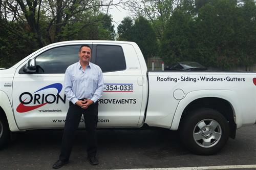 Jeremiah, owner of Orion Home Improvements