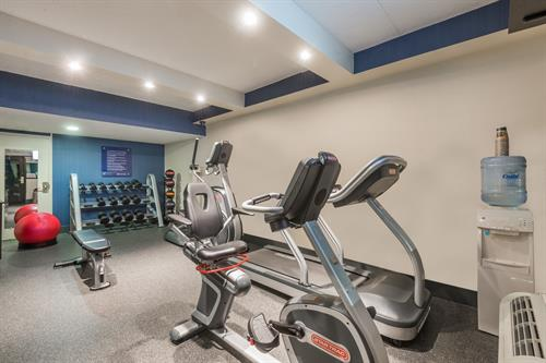 Fitness Center 24 hours