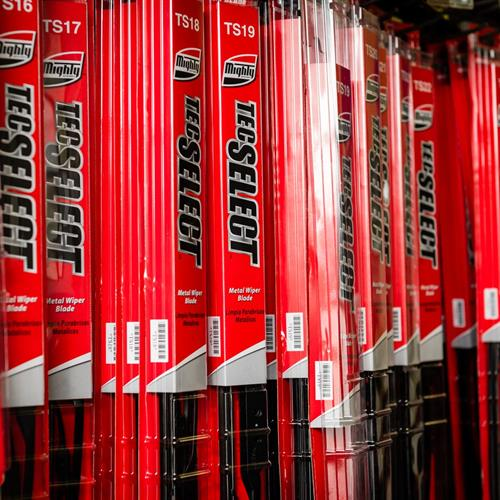 We keep a wide selection of wiper blades, light bulbs, and engine filters and cabin filters in stock.