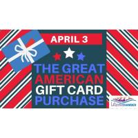 Great American Gift Card Purchase on April 3!
