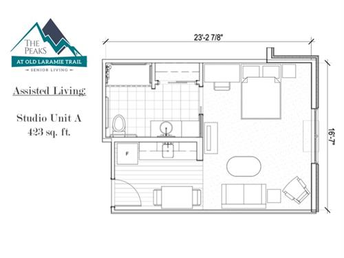 Assisted Living Studio Residence