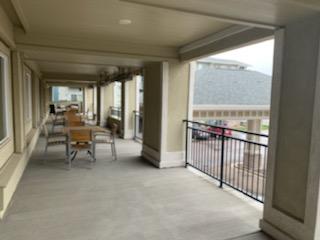 2nd Floor Exterior Sitting Area