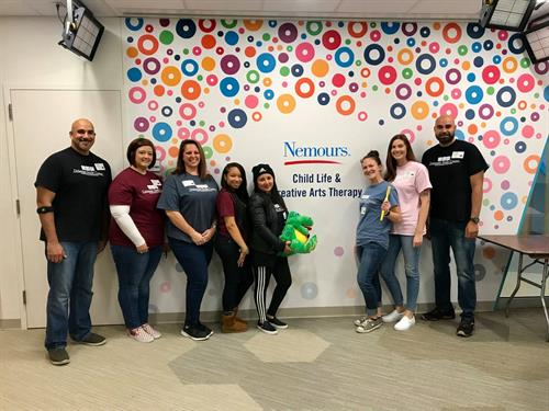 DSC Volunteers at  Nemours Hospital for Children