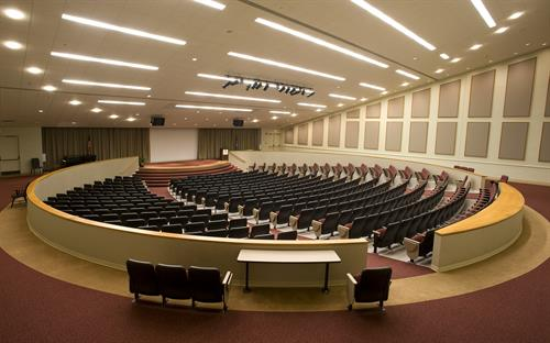Clayton Hall Auditorium-Seating Capacity 500