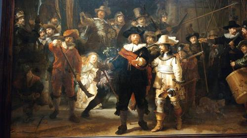 Night Watch, Rijksmuseum