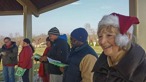 2014 Caroling in the Park