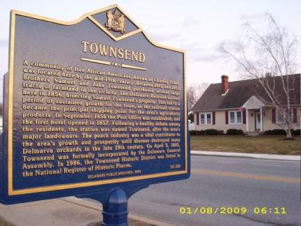 Town Marker