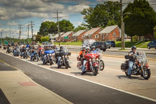 Supporters from across Delaware and beyond helped make ECC's first Motorcycle Ride a huge success!