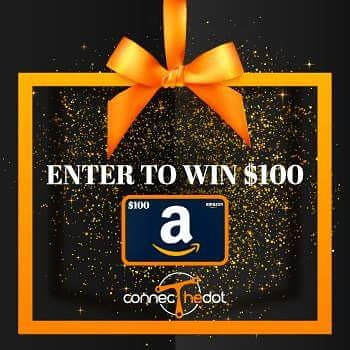 Enter this #StickyAdvertising #contest for a chance to #WIN a $100 Amazon Gift Card from #ConnecTheDot. https://connecthedot.com/giveaway