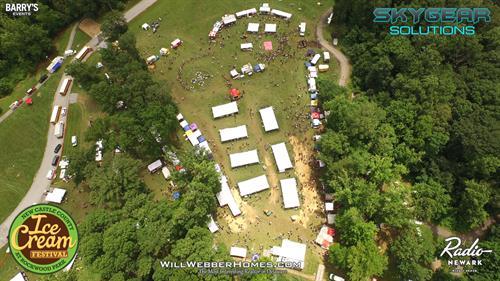 Ice Cream Festival --- Biggest Family Picnic in Delaware, Drove new.