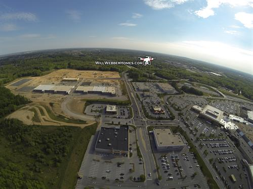 Christiana Mall is NEW if you know where to look.  Drone view.