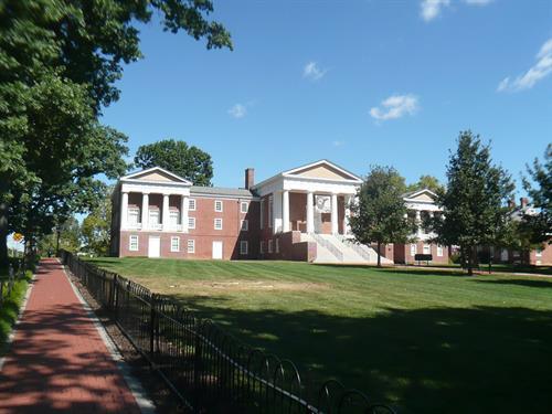 University of Delaware --- One block to Deer Park.  (Center of the Universt).